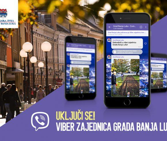 Viber zajednica Grada Banja Luka