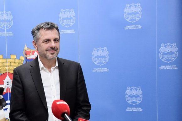 Сусрет градоначелника са шефом теренске канцеларије ОЕБС-а у Бањој Луци