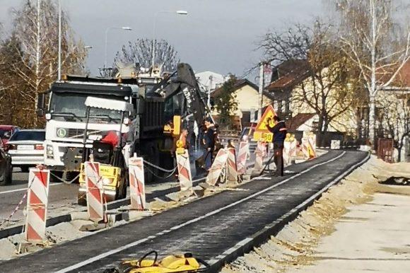 Залужани: Изградња тротоара и бициклистиче стазе