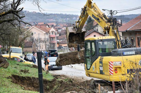 """""""Бања Лука се гради"""": Почела градња пута према Мотикама"""