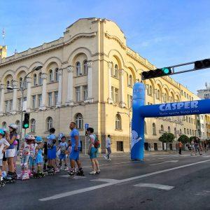 Током викенда пјешачка зона у централној градској улици