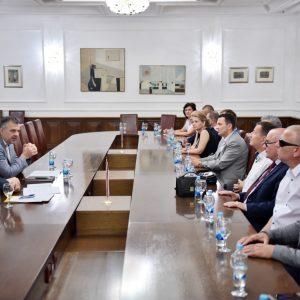 Пријем за делегацију Градске организације слијепих
