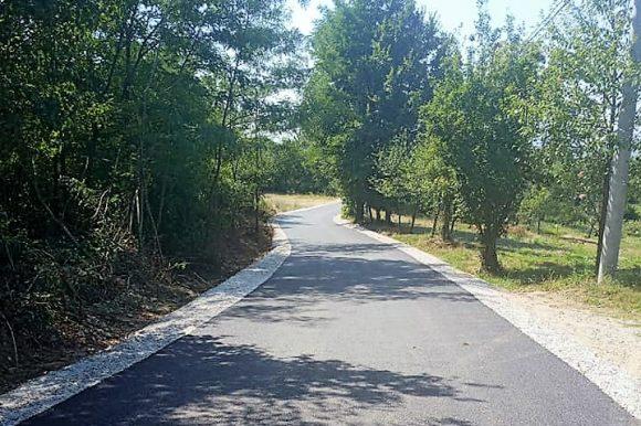 Нови асфалт у Чесми и Дебељацима