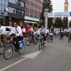 Пјешачење и бициклијада за викенд