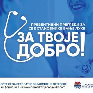 Почињу бесплатни прегледи: Први идућег викенда у амбуланти у Мотикама