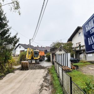 Петрићевац: Почела санација Банијске улице