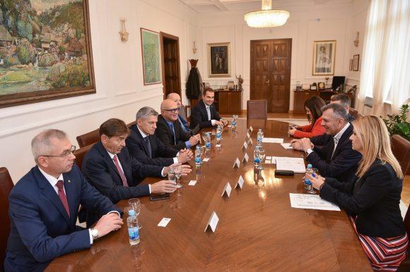 Радојичић са бјелоруском делегацијом