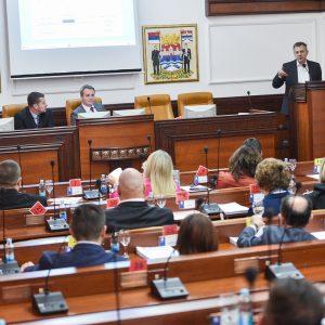 Skupština grada: Usvojen budžetski nacrt od 146,6 miliona KM