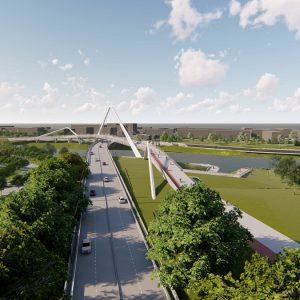 Мосту у Доцу у пројектовању, први радови на јесен