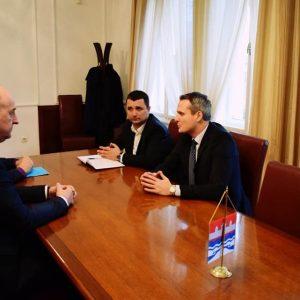 Predsjednik Skupštine Novog Sada u posjeti gradskom parlamentu