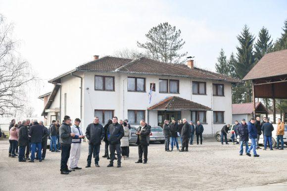 Počela obnova društvenog doma u Piskavici