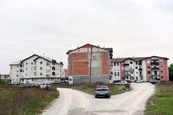 На прољеће градња пута до зграда у Улици Деспота Стефана Лазаревића