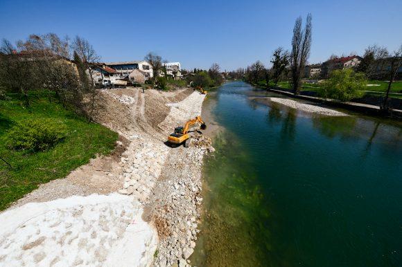 Do kraja aprila sanacija klizišta kod novog mosta