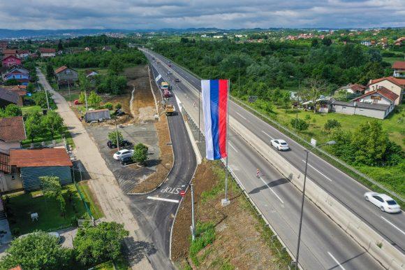 Залужани: Изграђено ново искључење са магистрале