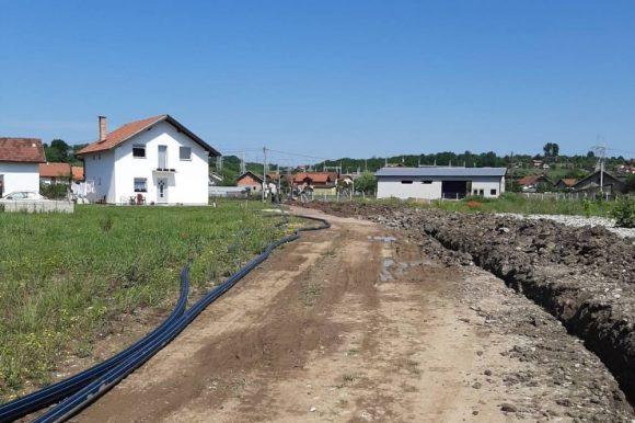 Изградња мањег водовода у Рамићима