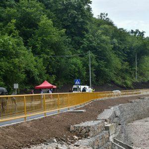 Санирано клизиште и обновљен дио саобраћајнице у Пријечанима