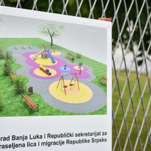 Ново игралиште у Лазареву