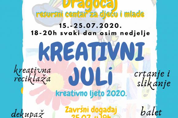 Dragočaj: Kreativne radionice za djecu i mlade