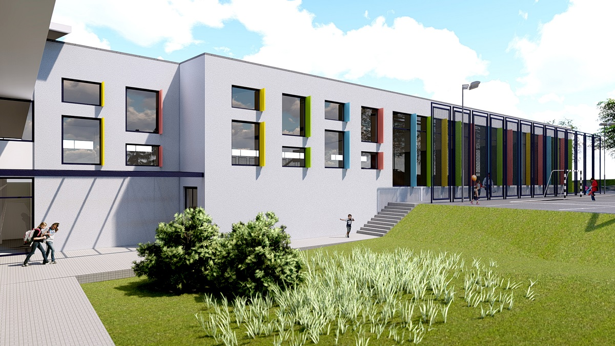 3D prikaz buduće dvorane