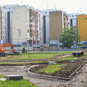 Нови садржаји за рекреативце у насељу Симе Матавуља