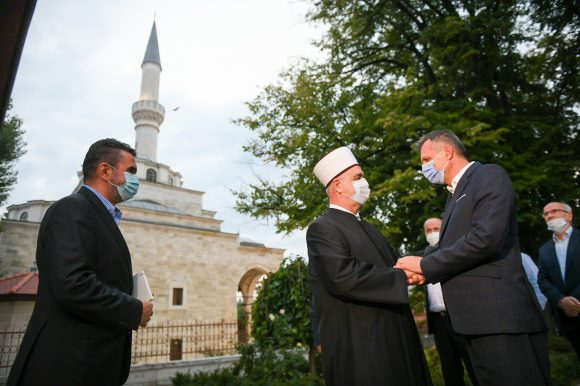 Сусрет градоначелника Радојичића и реиса Kавазовића: Сарадња на завидном нивоу