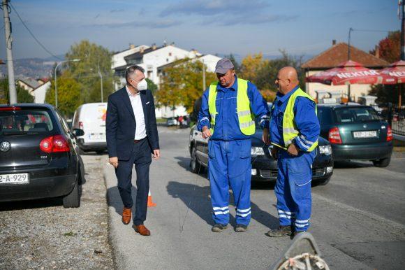 Тузланска улица: Почела градња водовода и канализације